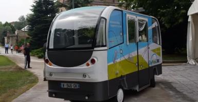Λεωφορεία χωρίς οδηγό αλλά με 5G στους δρόμους των Τρικάλων  - Κεντρική Εικόνα