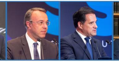 Σχοινάς, Σταϊκούρας, Γεωργιάδης και Βρούτσης στην ετήσια τακτική ΓΣ του ΣΒΕ - Κεντρική Εικόνα