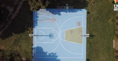 Το πιο αστείο γήπεδο μπάσκετ βρίσκεται κάπου στα Μεσόγεια Αττικής (video) - Κεντρική Εικόνα