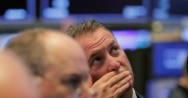 Πτώση στην Wall Street - Κεντρική Εικόνα