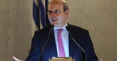 Χατζηδάκης: Aν θέλουμε δικό μας Πρόεδρο της Δημοκρατίας τον βγάζουμε αύριο το πρωί - Κεντρική Εικόνα