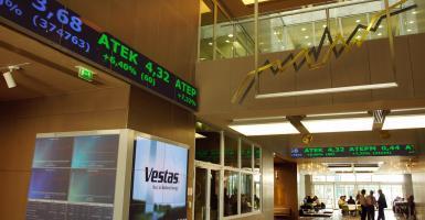 Χ.Α.: Προσπαθεί ανοδικά, κόντρα στις ευρωπαϊκές αγορές και τις τράπεζες - Κεντρική Εικόνα