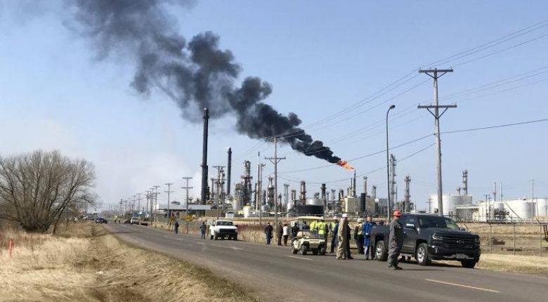Έκρηξη σε διυλιστήριο πετρελαίου στο Ουισκόνσιν - «Αρκετοί» οι τραυματίες - Κεντρική Εικόνα