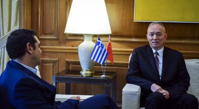 Cai Qi - Αλ. Τσίπρας: Βλέπουμε ότι σύντομα η Ελλάδα θα βγει από την κρίση - Κεντρική Εικόνα