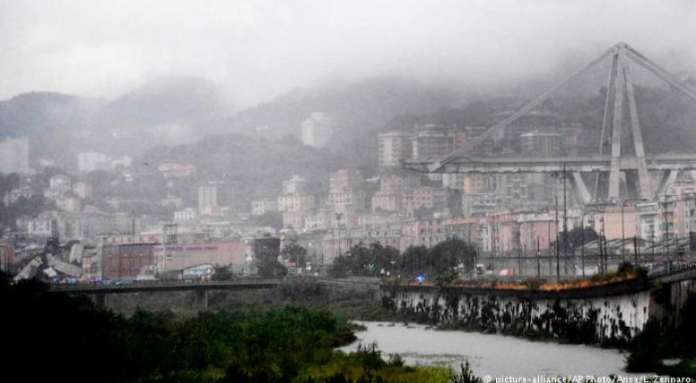 Γένοβα: Κακοκαιρία και κακοτεχνίες γκρέμισαν τη γέφυρα - Κεντρική Εικόνα