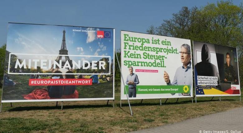 Ευρωεκλογές: Μέρκελ με Βέμπερ στο Μόναχο - Κεντρική Εικόνα