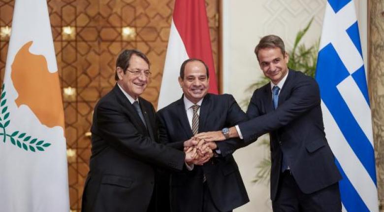 Τριμερής Αιγύπτου-Ελλάδας-Κύπρου: Καταδίκη της Τουρκίας και ικανοποίηση για τη συνεργασία - Κεντρική Εικόνα