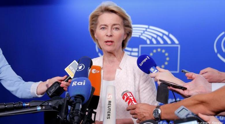 Η Ούρσουλα φον ντερ Λάιεν σε επιχείρηση γοητείας στο Ευρωκοινοβούλιο - Κεντρική Εικόνα