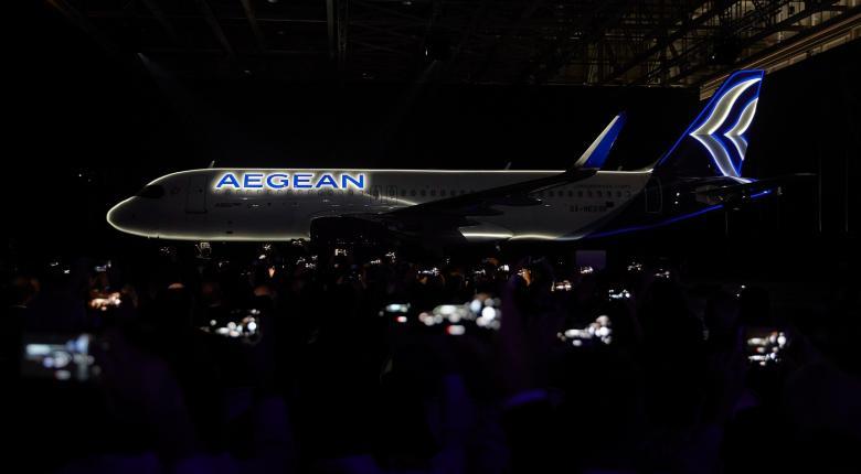 Νέα εποχή για την Aegean - Αυτά είναι τα τρία νέα Airbus A320neo (Photos | Video) - Κεντρική Εικόνα