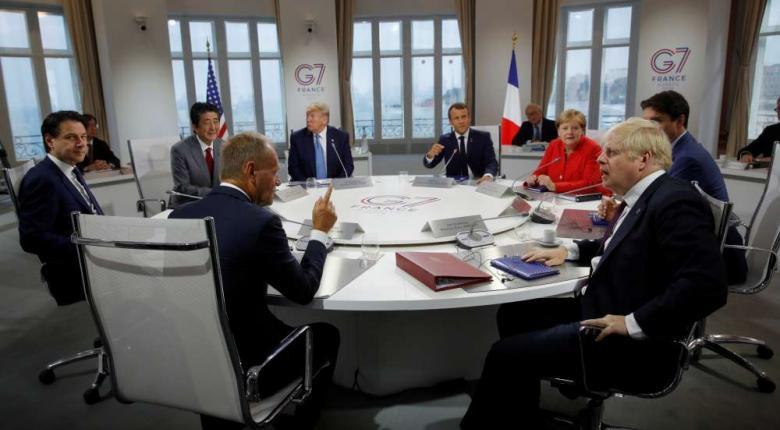 Η G7 ολοκληρώνεται με συνομιλίες για τo κλίμα και την ψηφιακή οικονομία - Κεντρική Εικόνα