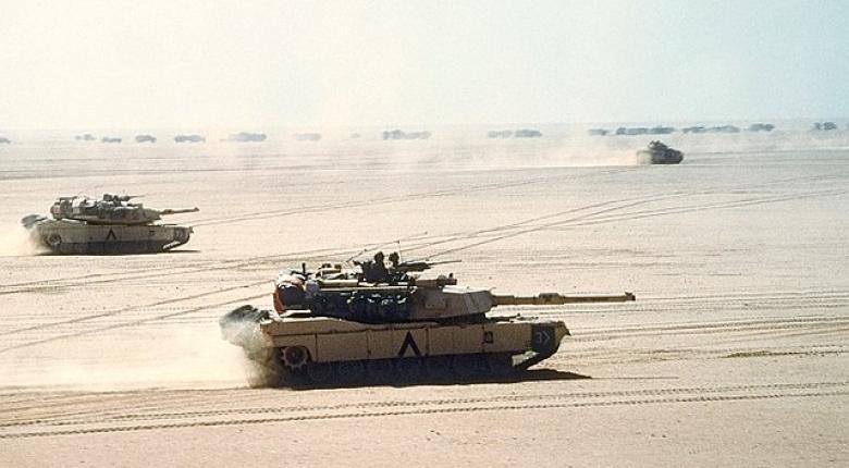 Η Μάχη του 73ου Μεσημβρινού (ή της Tawakalna) στο Ιρακ το 1991 - Κεντρική Εικόνα