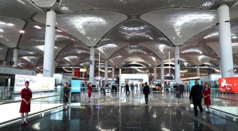 Σε καθοδική πορεία η επιβατική κίνηση στα αεροδρόμια της Τουρκίας - Κεντρική Εικόνα
