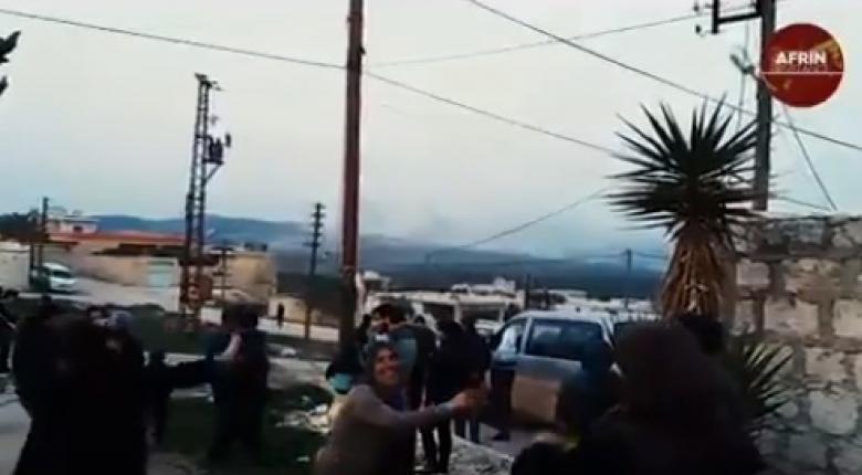 Aφρίν: Οι Κούρδοι περιμένουν τους Τούρκους χορεύοντας και τραγουδώντας! (video) - Κεντρική Εικόνα