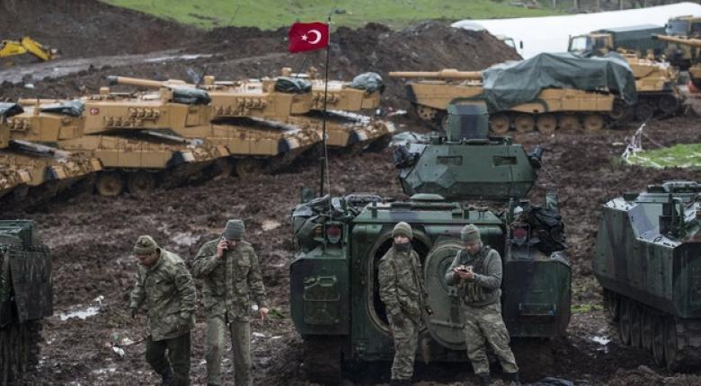 Οι τουρκικές δυνάμεις απέκτησαν τον πλήρη έλεγχο της Αφρίν - Κεντρική Εικόνα