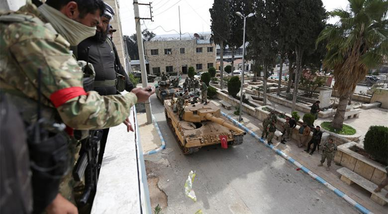 Φιέστα Ερντογάν για την Αφρίν, ανταρτοπόλεμο προαναγγέλλουν οι Κούρδοι  - Κεντρική Εικόνα