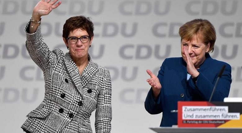 Για εισήγηση λογοκρισίας κατηγορείται η αρχηγός του CDU - Κεντρική Εικόνα