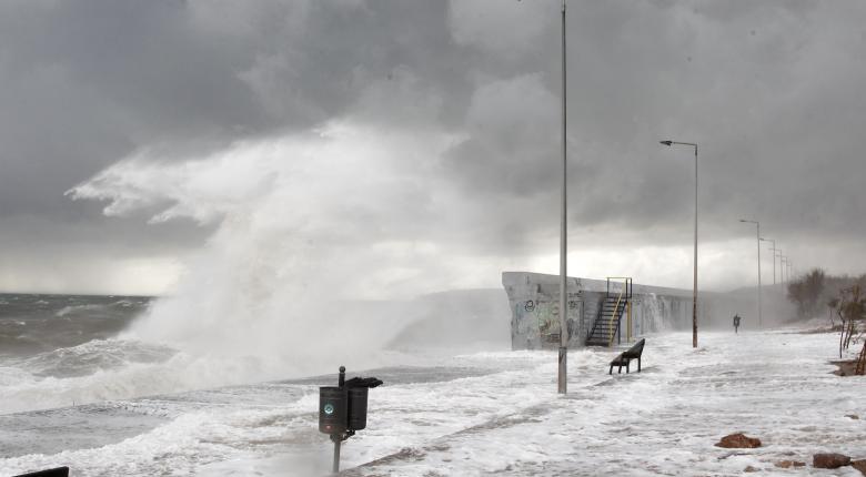 Θυελλώδεις άνεμοι: Σε ποια περιοχή έφτασαν τα 121 χλμ/ώρα οι ριπές - Κεντρική Εικόνα