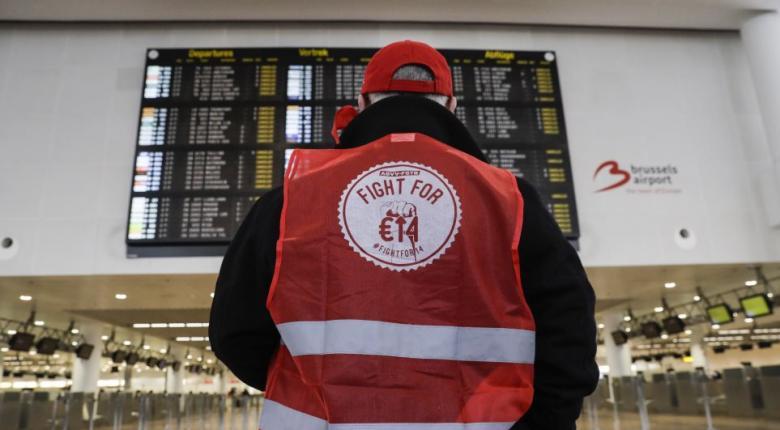 Γενική απεργία «παραλύει» το Βέλγιο - Ακυρώνονται δεκάδες πτήσεις - Κεντρική Εικόνα