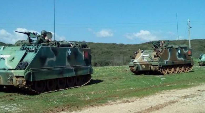 Τα τεθωρακισμένα του Στρατού βγήκαν στην Ήπειρο (photos) - Κεντρική Εικόνα
