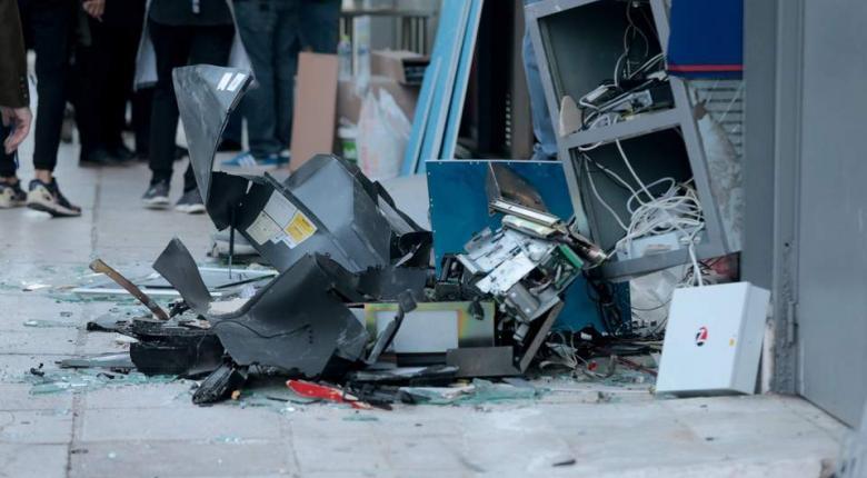 Εντυπωσιακή έκρηξη σε ATM με λεία τις κασετίνες και άγνωστο χρηματικό ποσό - Κεντρική Εικόνα