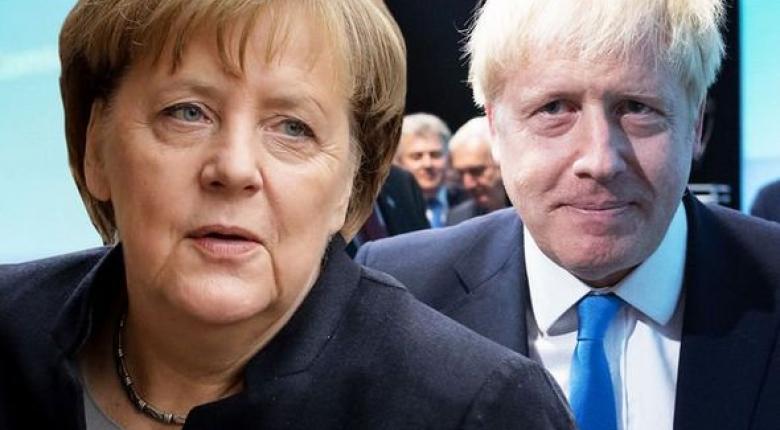 Εξελίξεις στο Brexit: Κρίσιμες συναντήσεις Τζόνσον με Μακρόν και Μέρκελ - Κεντρική Εικόνα