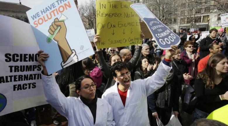 ΗΠΑ: Παγκόσμια κινητοποίηση για την υπεράσπιση της Επιστήμης - Κεντρική Εικόνα