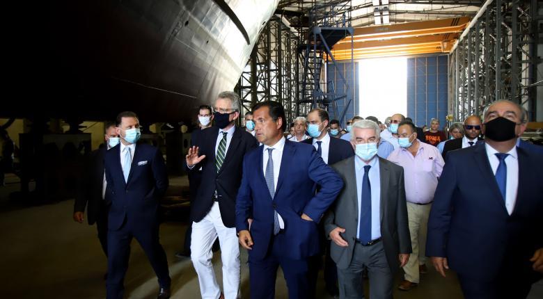 Ολοκληρώνεται η συμφωνία με ΟΝΕΧ για τα Ναυπηγεία Ελευσίνας - Κεντρική Εικόνα