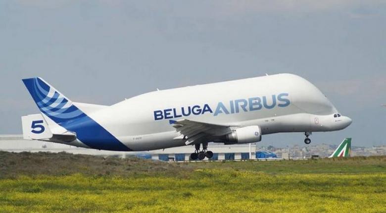 Στο Ελευθέριος Βενιζέλος το εντυπωσιακό Beluga Airbus (video) - Κεντρική Εικόνα