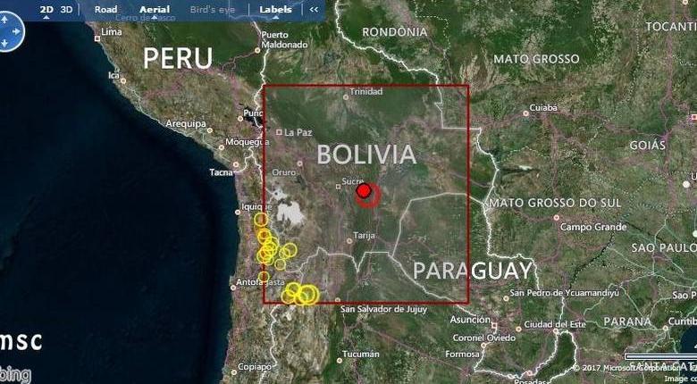 Ισχυρός σεισμός 6,5 Ρίχτερ στη Βολιβία - Κεντρική Εικόνα