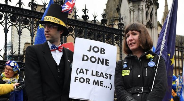 Τίτλοι τέλους: «Έξω από την ΕΕ» το Ηνωμένο Βασίλειο μετά από 47 χρόνια! - Κεντρική Εικόνα