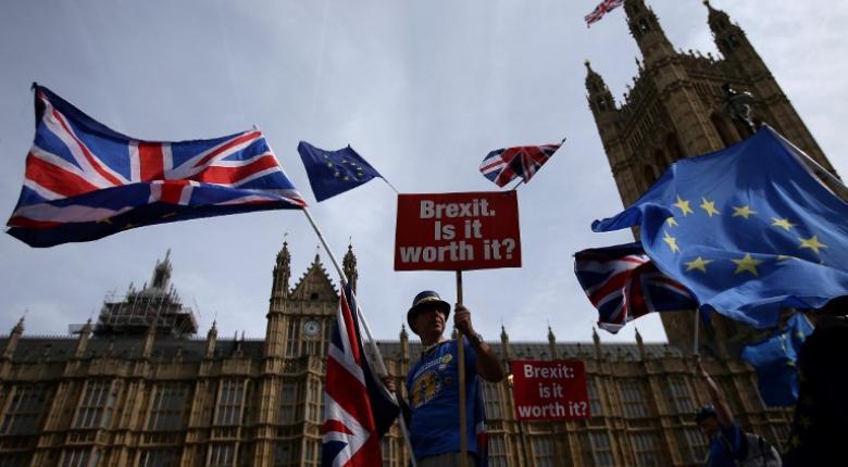 Έντονες αντιδράσεις Συντηρητικών και Εργατικών στην ανακοίνωση του προσχεδίου για το Brexit - Κεντρική Εικόνα