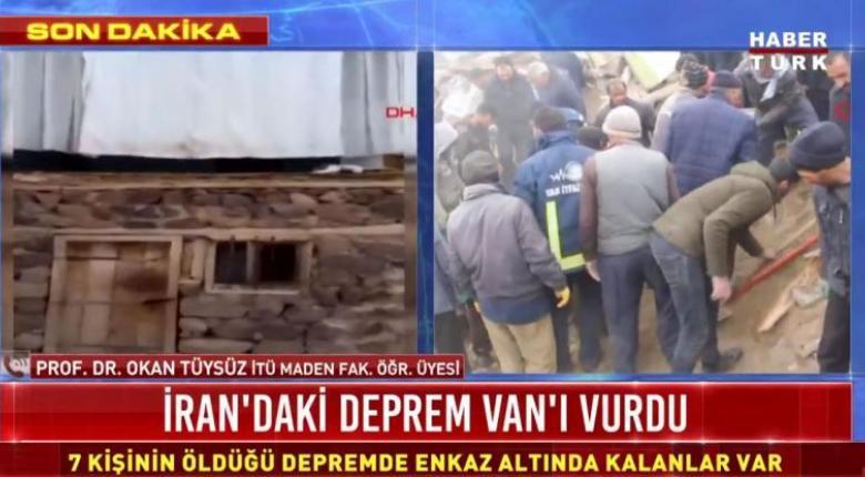 Τουρκία: Νεκροί και παγιδευμένοι από τον ισχυρό σεισμό των 5,9 Ρίχτερ (Video) - Κεντρική Εικόνα