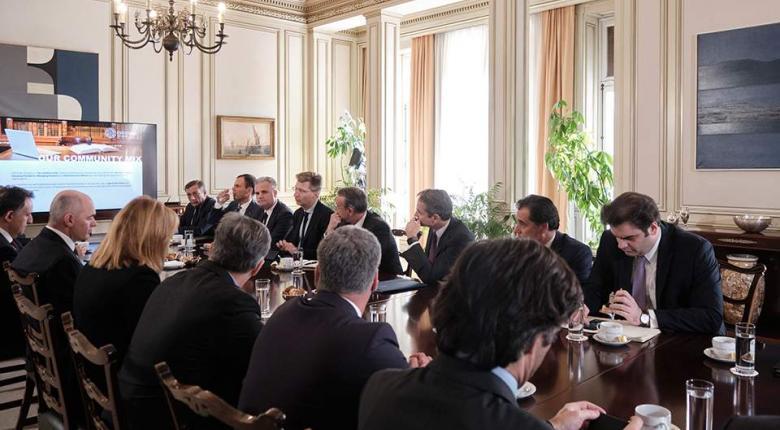 Μητσοτάκης σε CEO Clubs Greece: «Η κυβέρνηση στηρίζει έμπρακτα την επιχειρηματικότητα» - Κεντρική Εικόνα