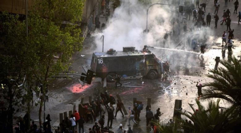 Χιλή: Πρώτη καταδίκη Πινιέρα για υπέρμετρη βία - Τον τελευταίο μήνα έχασαν τη ζωή τους τουλάχιστον 23 άνθρωποι - Κεντρική Εικόνα