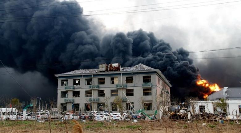 Κίνα: 64 νεκροί από έκρηξη σε χημικό εργοστάσιο στην επαρχία Τζιανγκσού - Κεντρική Εικόνα