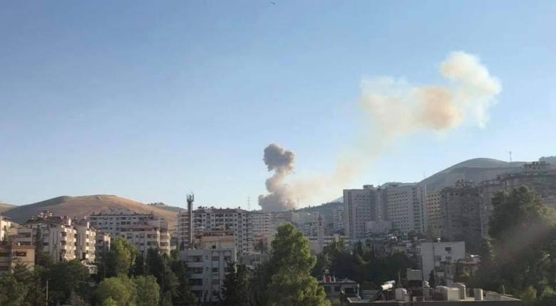 Οκτώ τραυματίες από την έκρηξη σε αποθήκη πυρομαχικών στη Δαμασκό  - Κεντρική Εικόνα