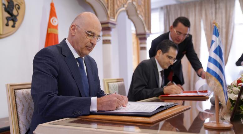 Στην Τυνησία ο Δένδιας - Συναντήσεις με την πολιτειακή και πολιτική ηγεσία - Κεντρική Εικόνα