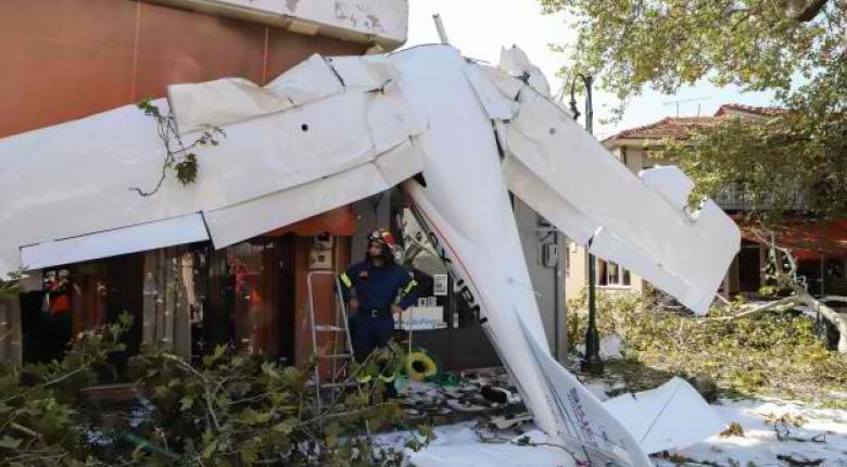 Πρώτη Σερρών: Συγκλονιστικές σκηνές από την πτώση του μονοκινητήριου πάνω σε κτίρια (Photos/Video) - Κεντρική Εικόνα