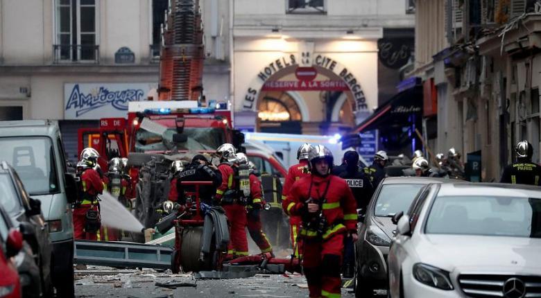 Δύο πυροσβέστες και μία ισπανίδα τουρίστρια νεκροί από την έκρηξη στο Παρίσι - Κεντρική Εικόνα