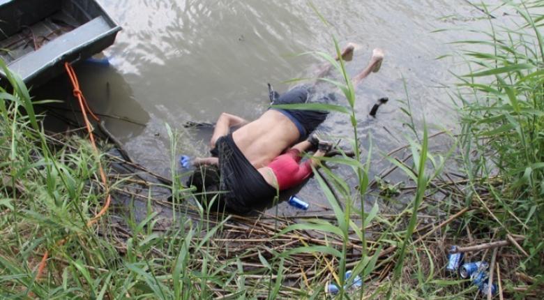 Ελ Σαλβαδόρ: Κηδεύτηκαν ο μετανάστης πατέρας και η κόρη του που πνίγηκαν στον Ρίο Μπράβο - Κεντρική Εικόνα