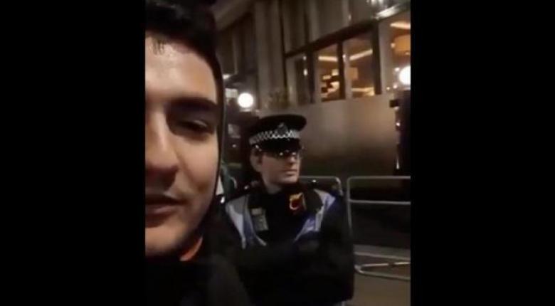 Έλληνας βρίζει άσχημα αστυνομικό στο Λονδίνο κι εκείνος του απαντά στα... Ελληνικά! (Video) - Κεντρική Εικόνα