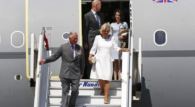 Εφθασαν στην Ελλάδα ο Κάρολος και η σύζυγος του, Καμίλα - Κεντρική Εικόνα