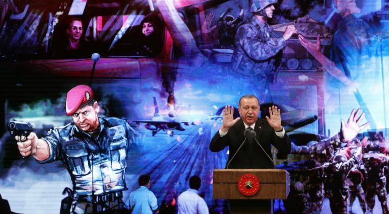 Με τους Τούρκους πραξικοπηματίες παρομοίασε τους Έλληνες ο Ερντογάν (vid) - Κεντρική Εικόνα