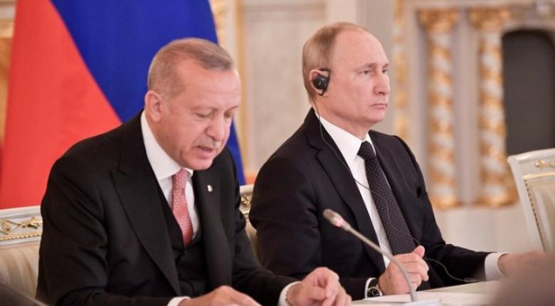 Ερντογάν σε Πούτιν: Οι βομβαρδισμοί στην Ιντλίμπ πλήττουν τη συνεργασία μας - Κεντρική Εικόνα