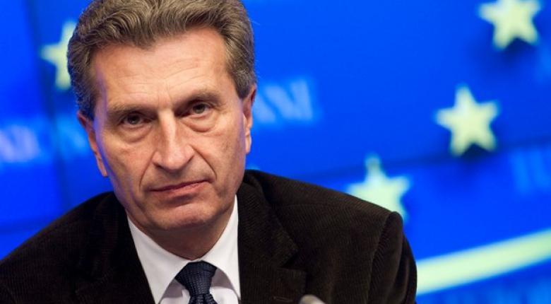 Έτινγκερ: Η Ελλάδα δεν θα χρειαστεί τέταρτο πρόγραμμα βοήθειας - Κεντρική Εικόνα