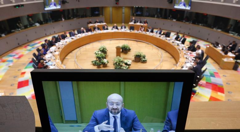 Έκτακτη Σύνοδος Κορυφής με τηλεδιάσκεψη για τον κορωνοϊό  - Κεντρική Εικόνα