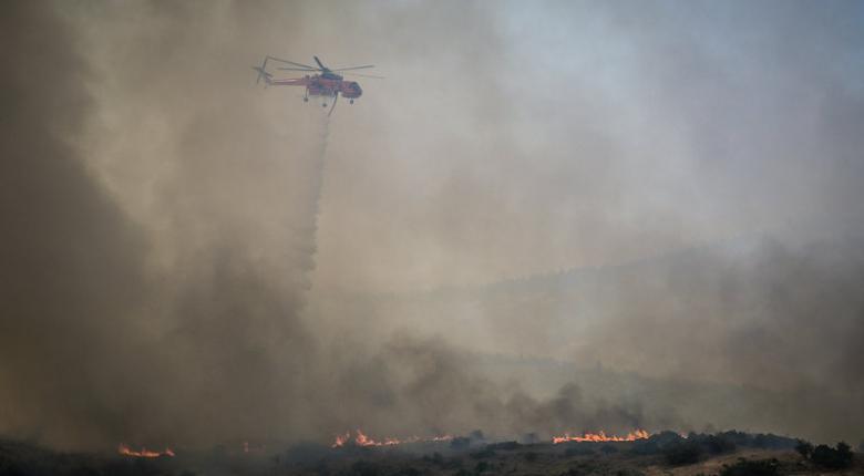 Ενδείξεις για εμπρησμό πίσω από τη φωτιά στην Εύβοια - Κεντρική Εικόνα