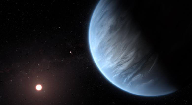 Πρώτη ανακάλυψη νερού σε πιθανώς κατοικήσιμο εξωπλανήτη - Κεντρική Εικόνα