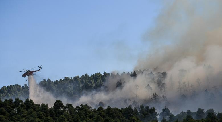 Πολύ υψηλός ο κίνδυνος πυρκαγιάς και για αύριο σε έξι περιφέρειες - Κεντρική Εικόνα
