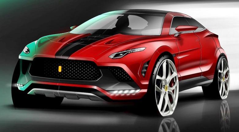 Έτοιμο το 2022 το πρώτο SUV της Ferrari (photos) - Κεντρική Εικόνα